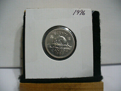 1996  Canada  1  Nickel 5 Cents  Coin  Proof Like Sealed  96    High  Grade