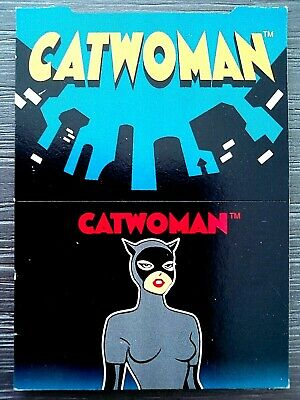"1995 Skybox Dc Comics Batman & Robin "" Pop Up "" Trading Card - Catwoman"