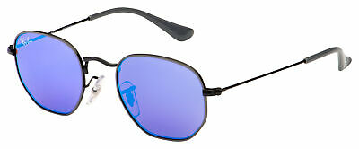 Ray-Ban Junior Sunglasses RJ 9541SN 261/7V 44 Grey / Black | Violet / Blue Mirro