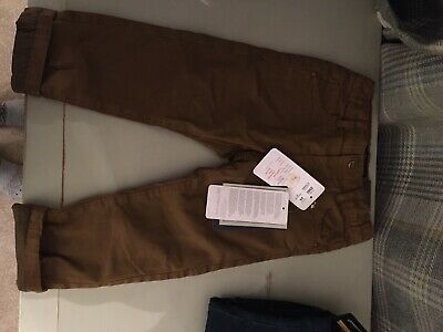 Boys Designer Mayoral Smart Chino Trousers 2-3 Years 24m Bnwt Rrp £22