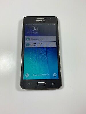 Samsung Galaxy Grand Prime 8GB T-Mobile SM-G530T Gray - CLEAN ESN - GOOD SHAPE
