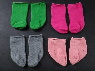 AMERICAN GIRL Mixed Lot Four Pairs of STOCKINGS Socks for Dolls