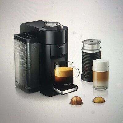 NEW Nespresso Vertuo Evoluo Coffee Espresso Machine with Aeroccino3 by De'Longhi