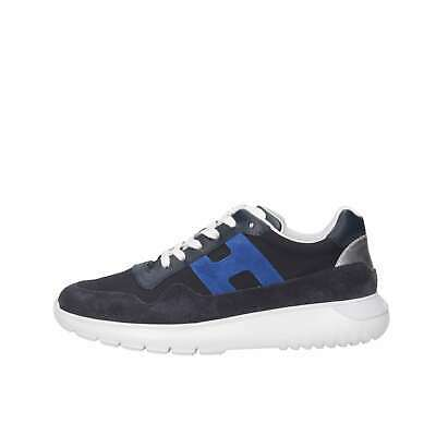 Hogan Junior Bambino HXC3710AP30KK6694P Blu Sneakers Primavera/Estate