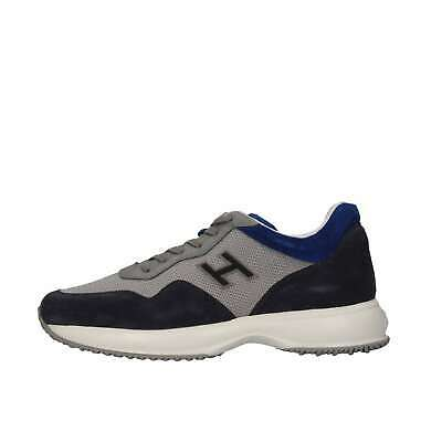 Hogan Junior Bambino HXR00N0V311FTZ635J Blu Sneakers Primavera/Estate