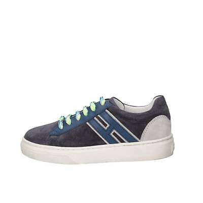 Hogan Junior Bambino HXC3400K390HB90QBV Blu Sneakers Primavera/Estate