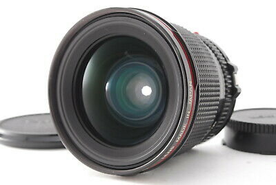 *NEAR MINT* CANON NEW FD 24mm F/1.4 L WIDE ANGLE MF LENS w/ CAPS NFD From JAPAN