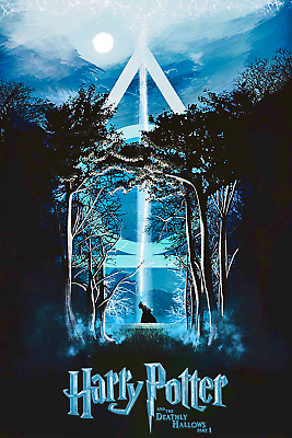Harry Potter and the Deathly Hallows Part 1 Movie Poster 12x18