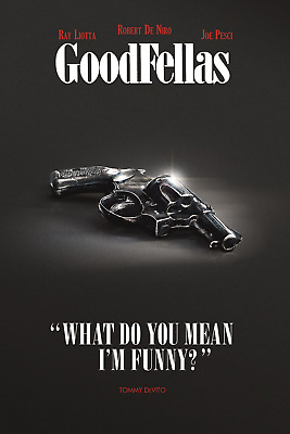 FUNNY HOW QUOTE POSTER 24x36-49597 GOODFELLAS
