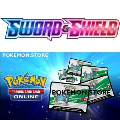 50 Sword Shield Base Set Codes Pokemon TCG Online Booster sent IN GAME / EMAILED