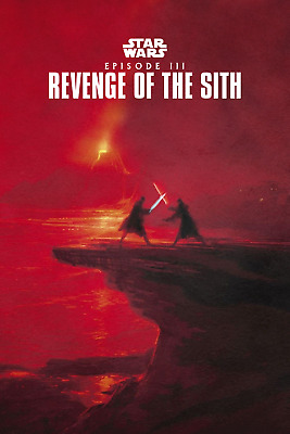 Star Wars Revenge of the Sith Movie Poster 12x18