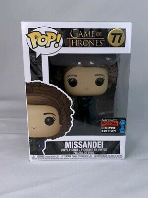Funko pop Game of Thrones Missandei 77 funko exclusive 2019 fall limited edition