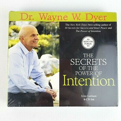 The Secrets Of The Power Of Intention 6 CD Set by Dr. Wayne Dyer SEALED
