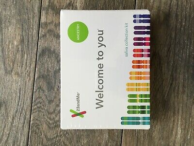 23andMe AUXX-00-N05 Genetic Ancestry Test - FACTORY SEALED BOX