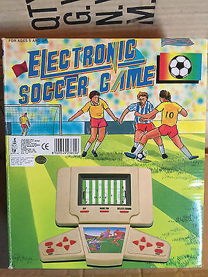 Grand Stand Electronic Soccer Game New