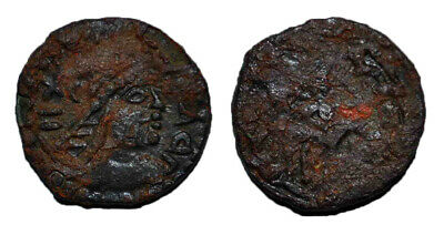(14645) Ancient Khwarizm AE, The Afrighid dynasty, late 6th C. - AD 995.