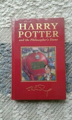 Harry Potter And The Philosopher's Stone  Deluxe Hardback edition NEW SEALED FPP