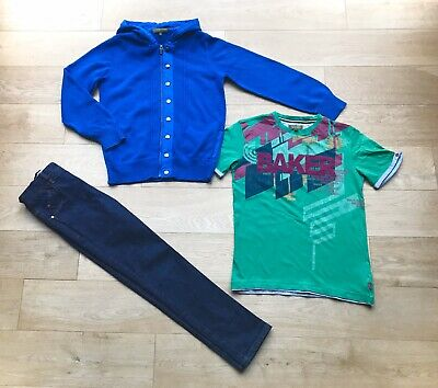 TED BAKER NEXT  *11y BOYS JEANS & JACKET TOP OUTFIT AGE 11 YEARS