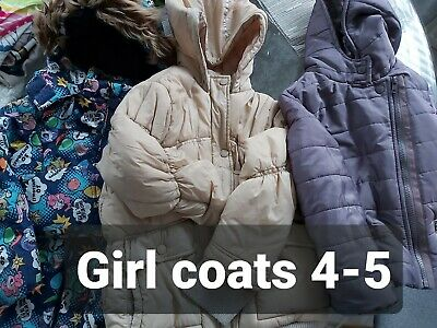 Girl coat bundle 4-5 years