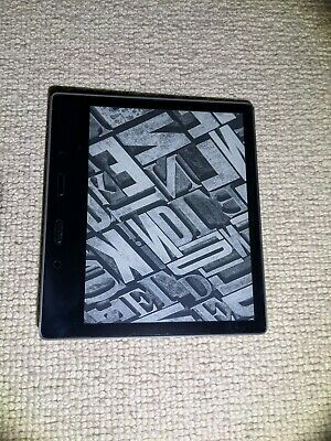 Amazon Kindle Oasis (9th Generation) 32GB, Wi-Fi + 3G (Unlocked), 7in - Graphite