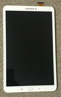"Samsung Galaxy Tab A 10.1"" Sm-T585 T585 Lcd Touch Screen White Digitizer T03"