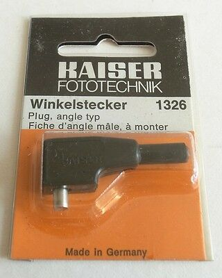 Kaiser Flash Pc Plug Angle Type 1326. New Old Stock In Original Packing.