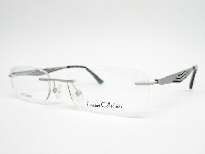 Caldini Collection Brille TITAN Randlos Brillenfassung leicht Damen dezent Neu
