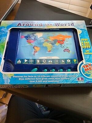 Interactive Around The World Learning Game By Scientific Geography Educational