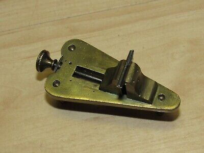 Antique Vintage Small Brass Watchmakers Jewelers Poising Tool
