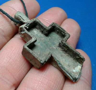Ancient Leaden Cross 8th to the mid-12th century.