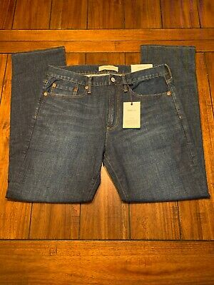 GAP Jeans 33X32 Mens Flex Straight Fit Blue Was $60 Save $$$$ Great Value