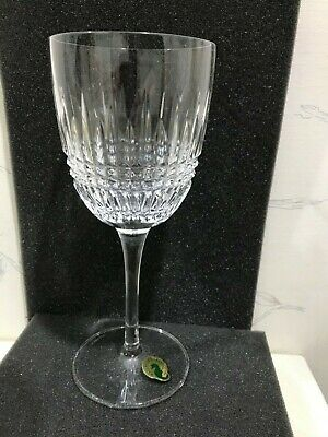 NEW Waterford Crystal LISMORE DIAMOND Red Wine Glass GOBLET (s) - MULTI AVAIL
