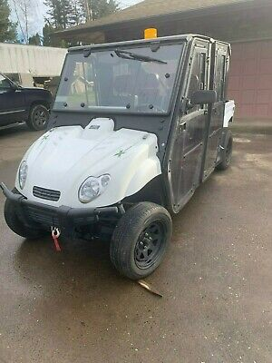 2015 Xtreme Green UTILITY VEHICLE, 4X4, DUMP BED, Low HOURS, Electric