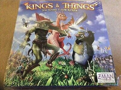 Kings and Things - Board Game - Zman Games- NEW SEALED