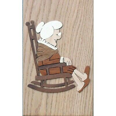 Grandma / Grandmother Marquetry Kit, Wood Fretwork Picture Craft Kit