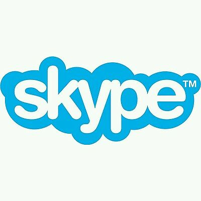 Skype Unlimited World 3 Month Subscription $39.87 Value Voucher Instant Delivery