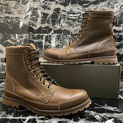 TIMBERLAND EARTHKEEPERS 6 Inch Brown BarnIshed Rugged Lace