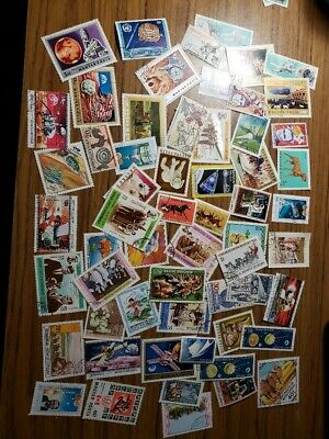60 fine used stamps Worldwide mixed, all big ones,best deal, discount shipping!