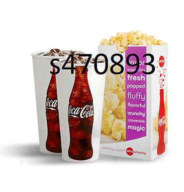 AMC Large Popcorn and 2 Large Fountain Drinks expires 12/31/2020 fast e-delivery