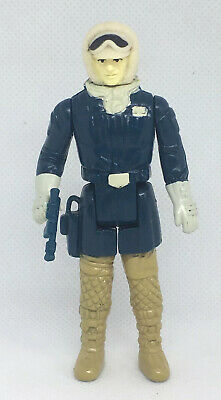 Vintage STAR WARS COMPLETE Figure - HAN SOLO in HOTH FATIGUES - 1980 ESB 'NOICE'