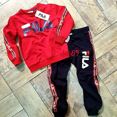Children Boys/Girls  Sports Tracksuit Hooded 3-14 yrs 2 pc set for Winter Spring