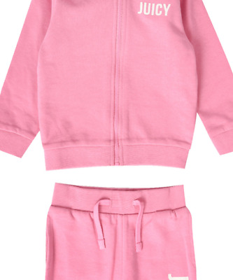 Girls Juicy Coutore Tracksuit Pink age 2-3 Years new with tags RRP £50