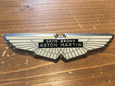 David Brown Aston Martin 1968-1972 DBS V8 Vantage Original Wappen Gold Emblem 1A