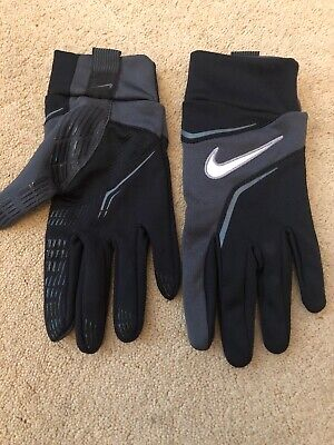 Nike Mens Field Player Gloves Outfield Football Size Large