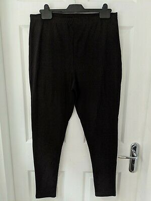 Lipsy Black High Waist Legging Size 16 New With Tags