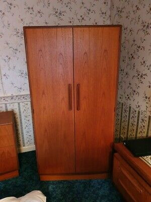 Furniture, G Plan, Wardrobe, good condition, approximately 1750x930x590mm.