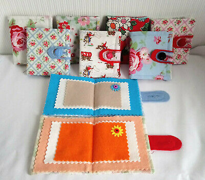 PADDED SEWING NEEDLE CASES CATH KIDSTON FABRIC.handcrafted ideal gift