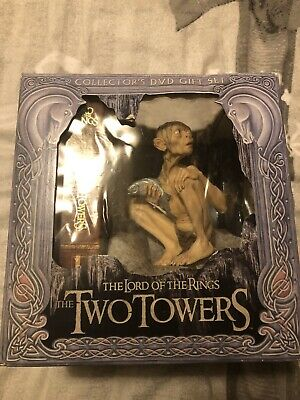 The Lord Of The Rings: The Two Towers DVD Collectors Set Model Limited Gollum