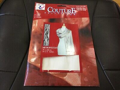 Arty's Couture Collection Satin Devore Scarf 35 X 180cm VSC.1024