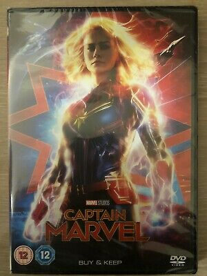 captain marvel dvd 2019 New And Sealed
